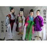 杖头木偶--西游记 白骨系例 非物质文化遗产 表演/礼品/摆设